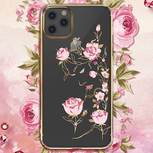 KINGXBAR Swarovski Crystal Clear Hard PC Case Cover for Apple iPhone 11 Pro Max/11 Pro/11