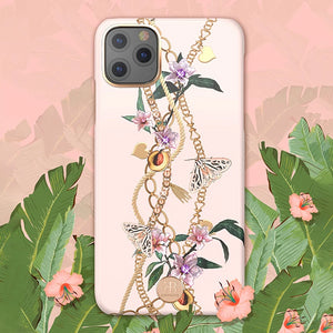 KINGXBAR Swarovski Crystal Hard PC Case Cover for Apple iPhone 11 Pro Max/11 Pro/11