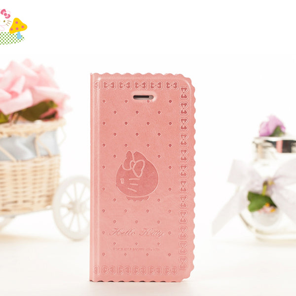 X-Doria Hello Kitty Folio PU Leather Case w/ Card Slots for Apple iPhone SE/5S/5