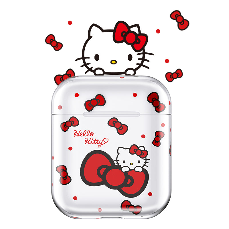 UKA Hello Kitty Ultra Thin Hard PC Apple AirPods 2&1 Charging Case Cover