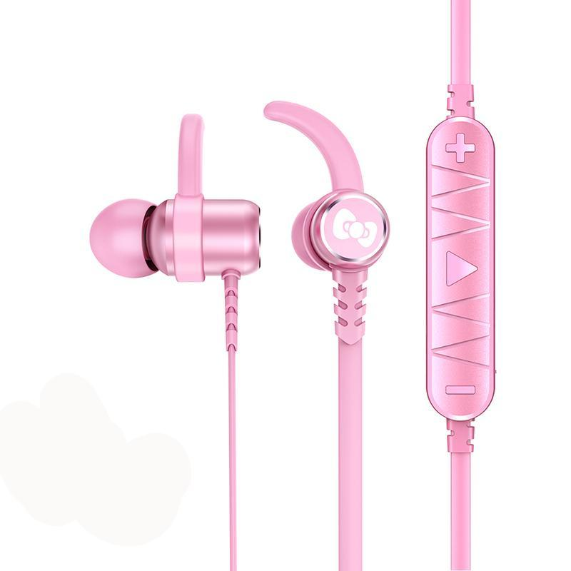 X-Doria Hello Kitty Belle Series Bluetooth Headset Sports Earphones Wireless Headphone