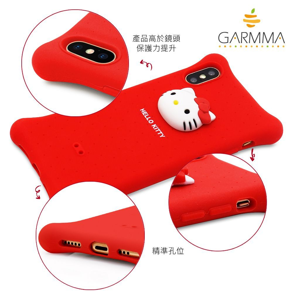 GARMMA Hello Kitty & Little Twin Stars Air Cushion Shockproof Jelly Case Cover