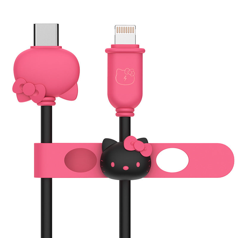 UKA Hello Kitty 1.2M 3A PD Type-C to Apple Lightning Cable