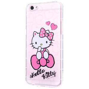 gourmandise Hello Kitty Air Cushion Bling Crystal Rhinestone Diamonds Transparent TPU Cover Case