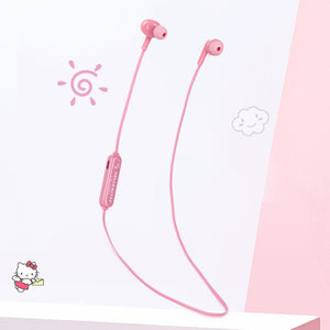 X-Doria Hello Kitty Simple Series Bluetooth Headset Sports Earphones Wireless Headphone