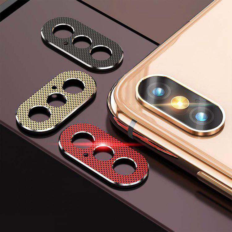 R-Just Rear Camera Guard Aluminum Lens Protector Guard Circle Case Cover
