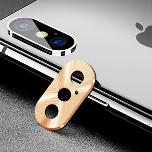 Oatsbasf Anti-Scratch Rear Camera Protector Metal Lens Guard Circle Cover
