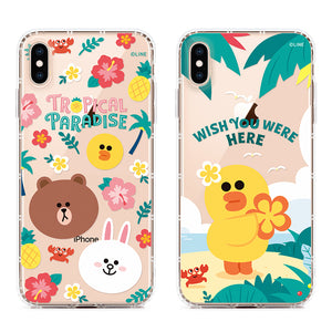 GARMMA Line Friends Tropical Air Cushion Soft Back Cover Case