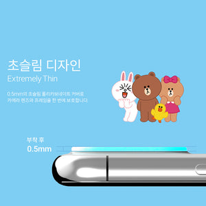 iColors Line Friends Character Anti-Scratch Camera Lens Protector