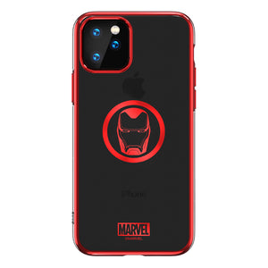 UKA Marvel Avengers Electroplating Soft TPU Back Cover Case for Apple iPhone