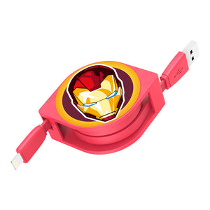 UKA Marvel Avengers 1M Apple Lightning / Type-C Extracted Extension Cable