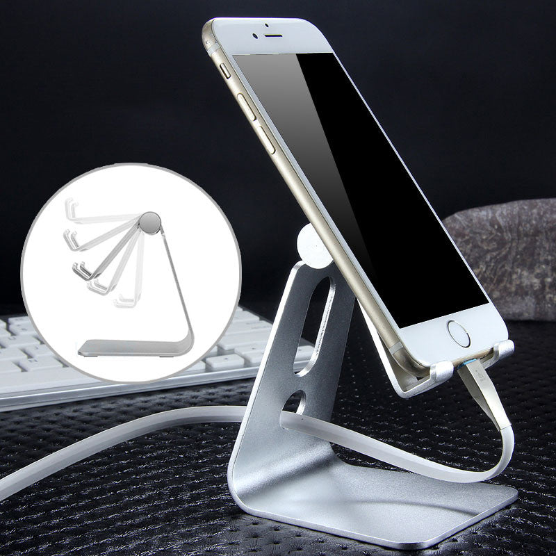 Armor King Solid Aluminum Alloy Metal Desktop Mobile Phone Support Tablet Stand Mount Holder Cradle