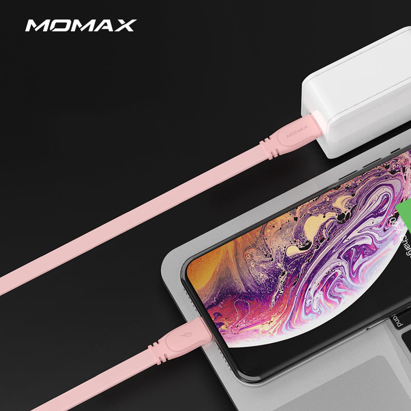 MOMAX Go Link MFI Certified 18W 3A Apple Lightning to Type-C Cable