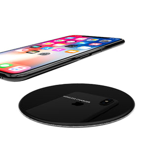 R-Just Ultra Slim Metal Fast Charging Wireless Charger Pad