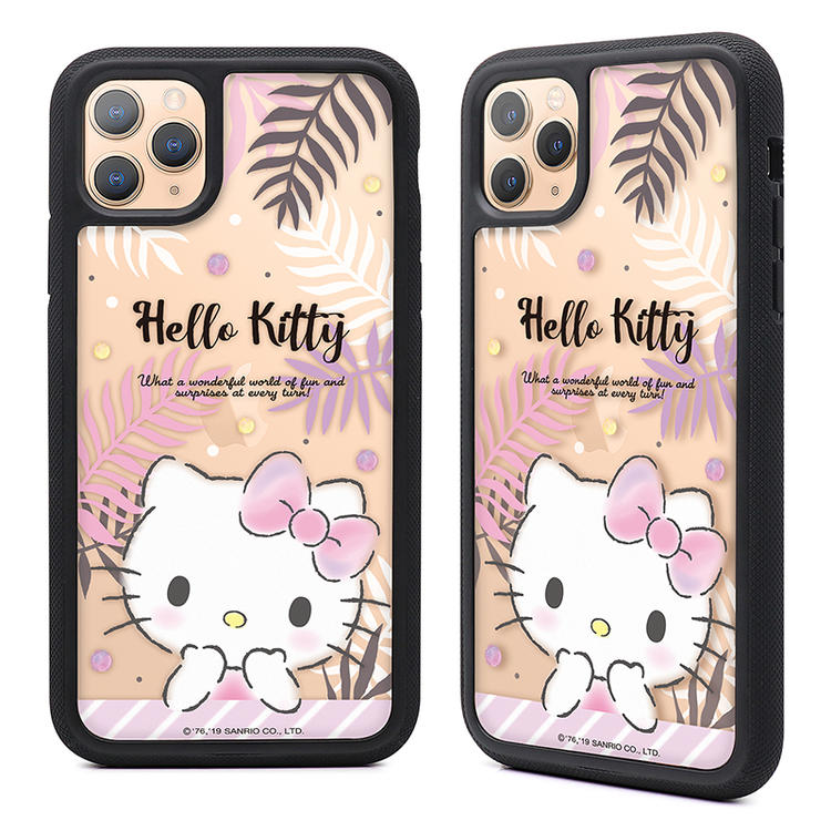 GARMMA Sanrio Characters Air Barrier Shockproof Tempered Glass Back Case Cover