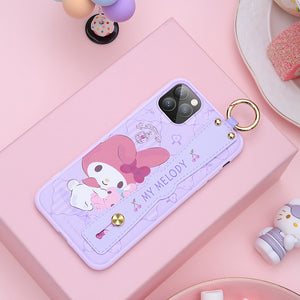 UKA Sanrio Characters Adjustable Wrist Strap Kickstand Case Cover