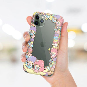 Sanrio Characters Lace Clear Shockproof Soft Back Case Cover - Armor King Case