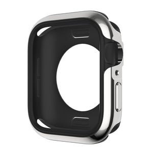 SwitchEasy Odyssey Aluminum Metal + Bayer TPU Bumper Frame Case for Apple Watch 5&4