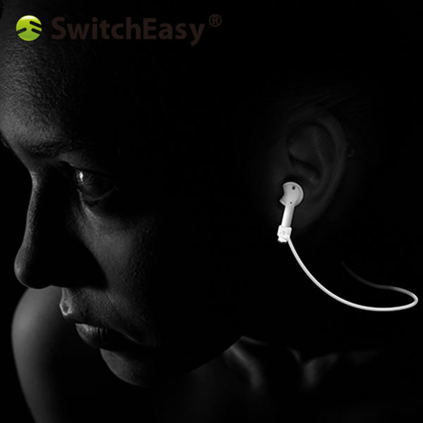 SwitchEasy Air Buddy Anti-lost Buds and Secure Cord for Apple AirPods