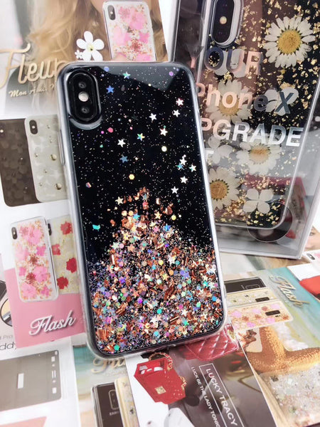 SwitchEasy Flash Shockproof Glitter Back Case Cover