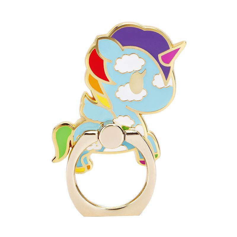 8thdays X tokidoki Unicorn 360° Rotating Anti-drop Zinc Alloy Metal Finger Ring Grip Phone Holder