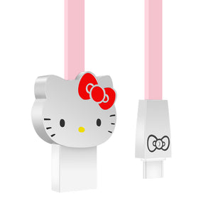 UKA Hello Kitty 1M 2A 3D Zinc Alloy Connector Type-C USB Cable