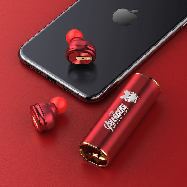 Marvel Avengers Endgame True Wireless Stereo Earbuds Bluetooth 5.0 Mini In-Ear Headphones