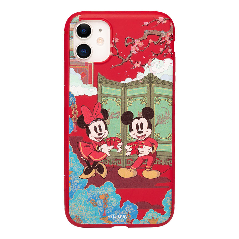 UKA Disney Mickey Mouse Happy New Year Colorful Shockproof Back Case Cover
