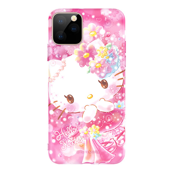 UKA Sanrio Characters Dreamy Crystal Diamonds Shockproof Back Case Cover for Apple iPhone