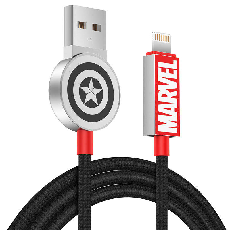 UKA Marvel Avengers Endgame 1.2M Fast Charging Apple Lightning / Type-C Cable