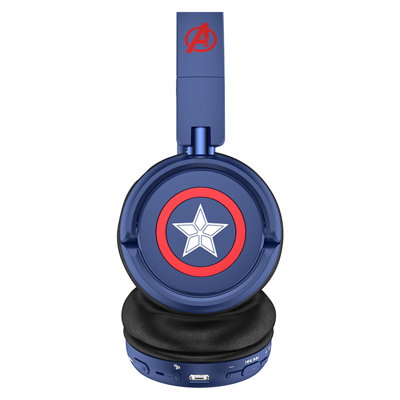 UKA Marvel Avengers Infinity War Stereo Over Ear Sports Wireless Bluetooth Headset