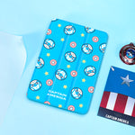 UKA Marvel Avengers Auto Sleep Folio Stand Cute Case Cover for Apple iPad