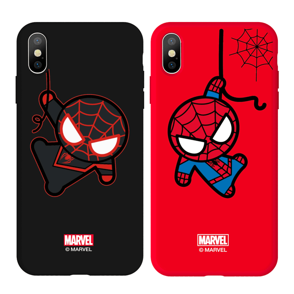 UKA Marvel Avengers Liquid Silicone Back Case Cover