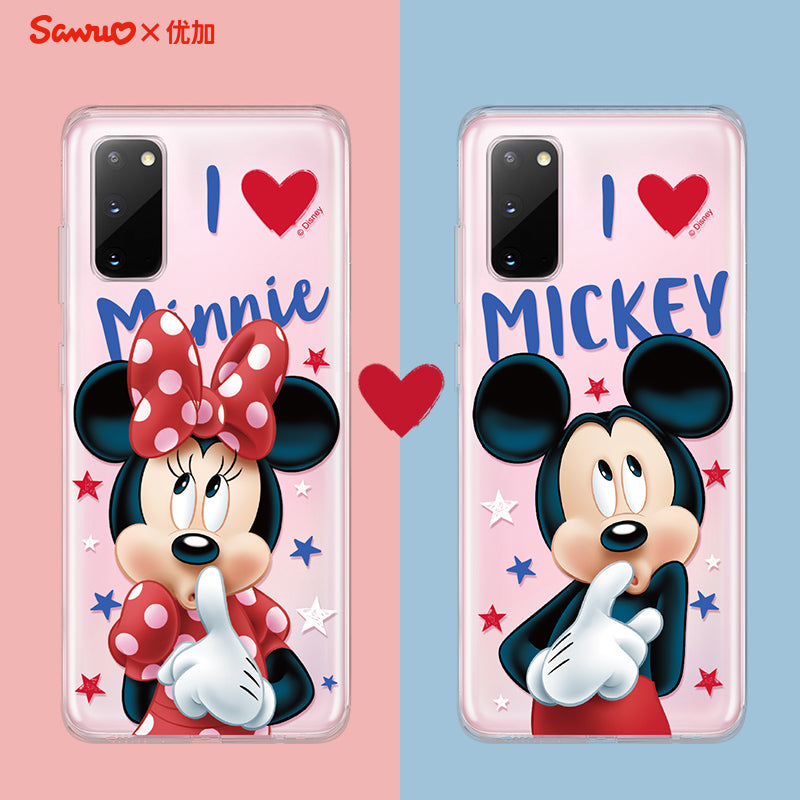 UKA Disney Spirit Crystal Ultra Thin Soft TPU Back Case Cover