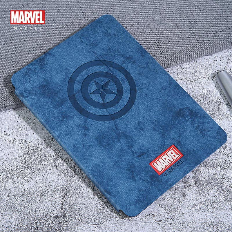 UKA Marvel Avengers Auto Sleep Folio Stand Fabric Case Cover for 6-inch Amazon Kindle (10th Generation-2019) J9G29R