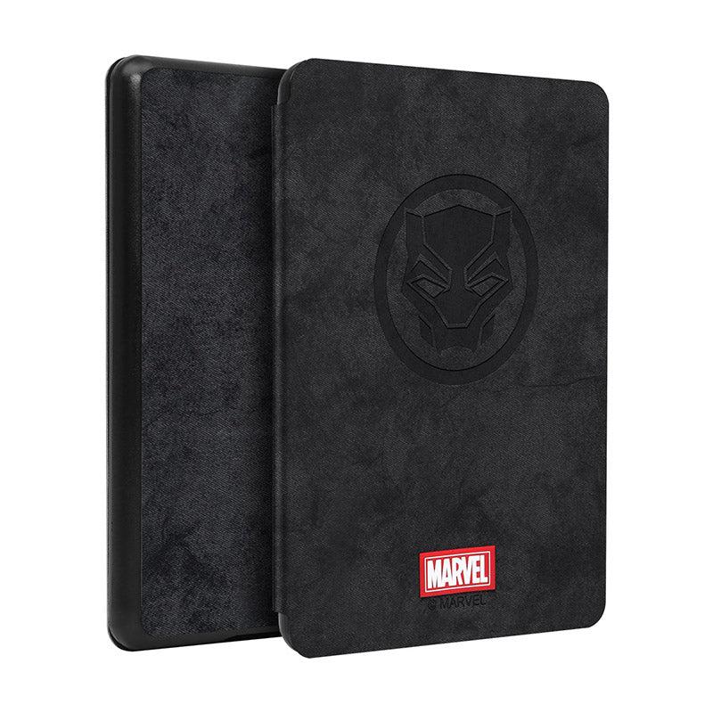 UKA Marvel Avengers Auto Sleep Folio Stand Fabric Case Cover for Amazon Kindle (10th Generation-2019) 6-inch