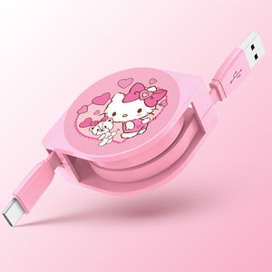 UKA Hello Kitty 1M Apple Lightning / Type-C Extracted Extension Cable
