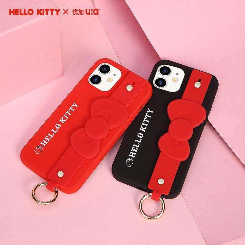 UKA Hello Kitty Liquid Silicone Wristband Case Cover - Armor King Case