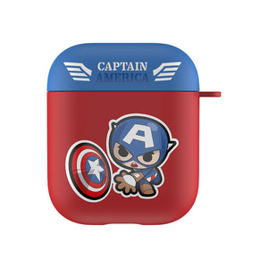 UKA Marvel Avengers Matte Touch Apple AirPods Pro/2/1 Charging Case Cover