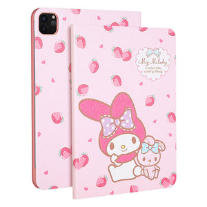 UKA Sanrio Characters Auto Sleep Folio Stand Silk Leather Case Cover