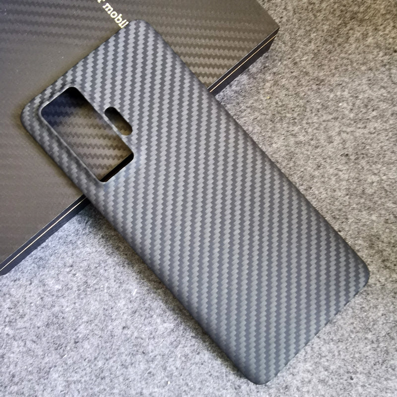 Oatsbasf Luxury Pure Kevlar Carbon Fiber Case for vivo Smartphones