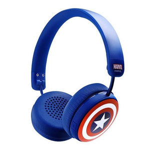 X-Doria Captain America Shield Sports Earphones On-Ear Headphone Wireless Bluetooth Headset