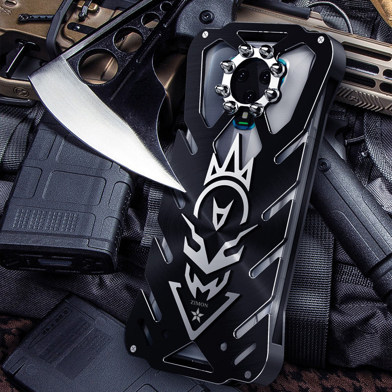 SIMON New THOR III Aviation Aluminum Alloy Shockproof Armor Metal Case Cover