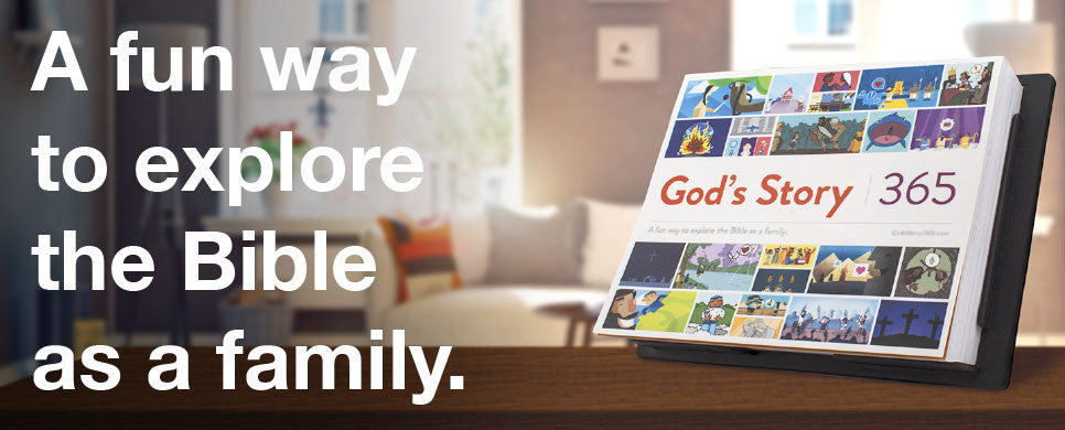 God's Story 365 A fun way to explore the Bible as a family.