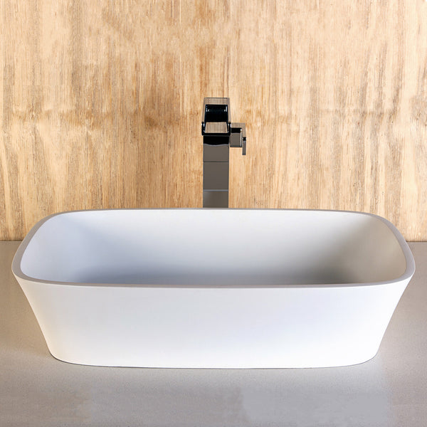 bathroom basin, rectangular basin, dado basin, stone basin