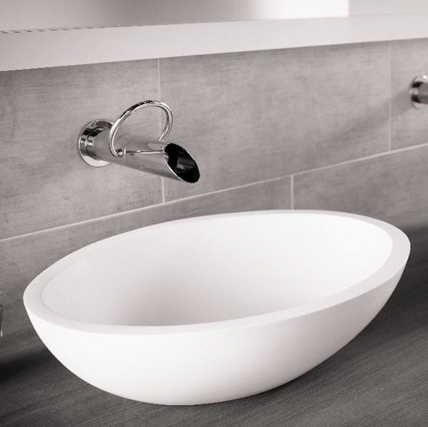 bathroom basin, oval basin, dado basin, stone basin