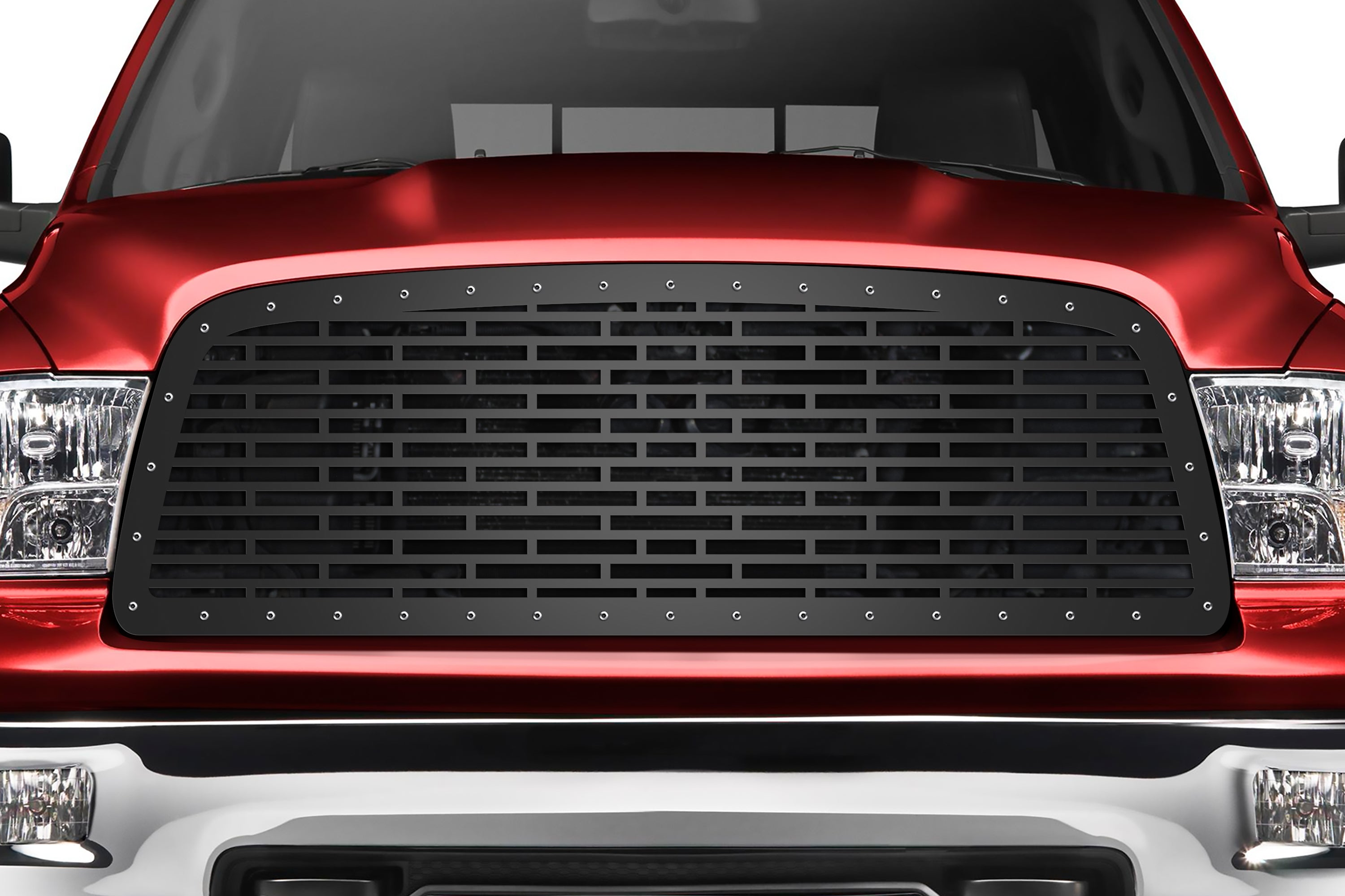 Steel Grille for Dodge Ram 1500 (2009-2012) and Ram 2500/3500 (2013-2018) - Bricks