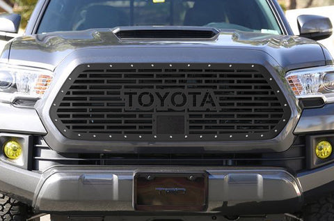 1 Piece Steel Pro Style Grille for Toyota Tacoma 2018-2020 - TOYOTA V1