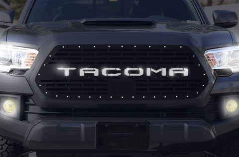 1 Piece LED X-Lite Steel Pro Style Grille for Toyota Tacoma 2018-2020 - TACOMA V2