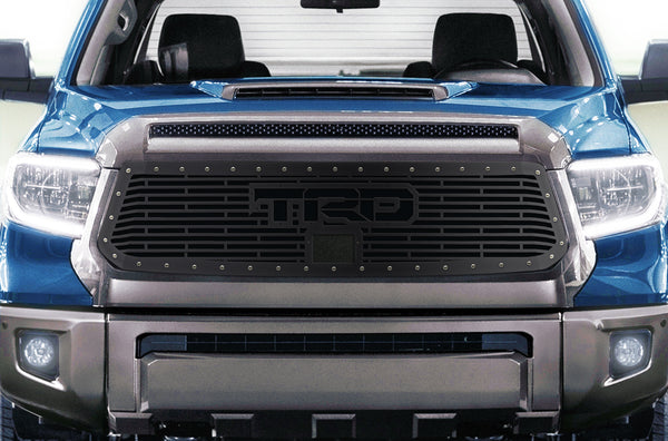 1 Piece Steel Grille for Toyota Tundra 2018-2020  Sport - TRD